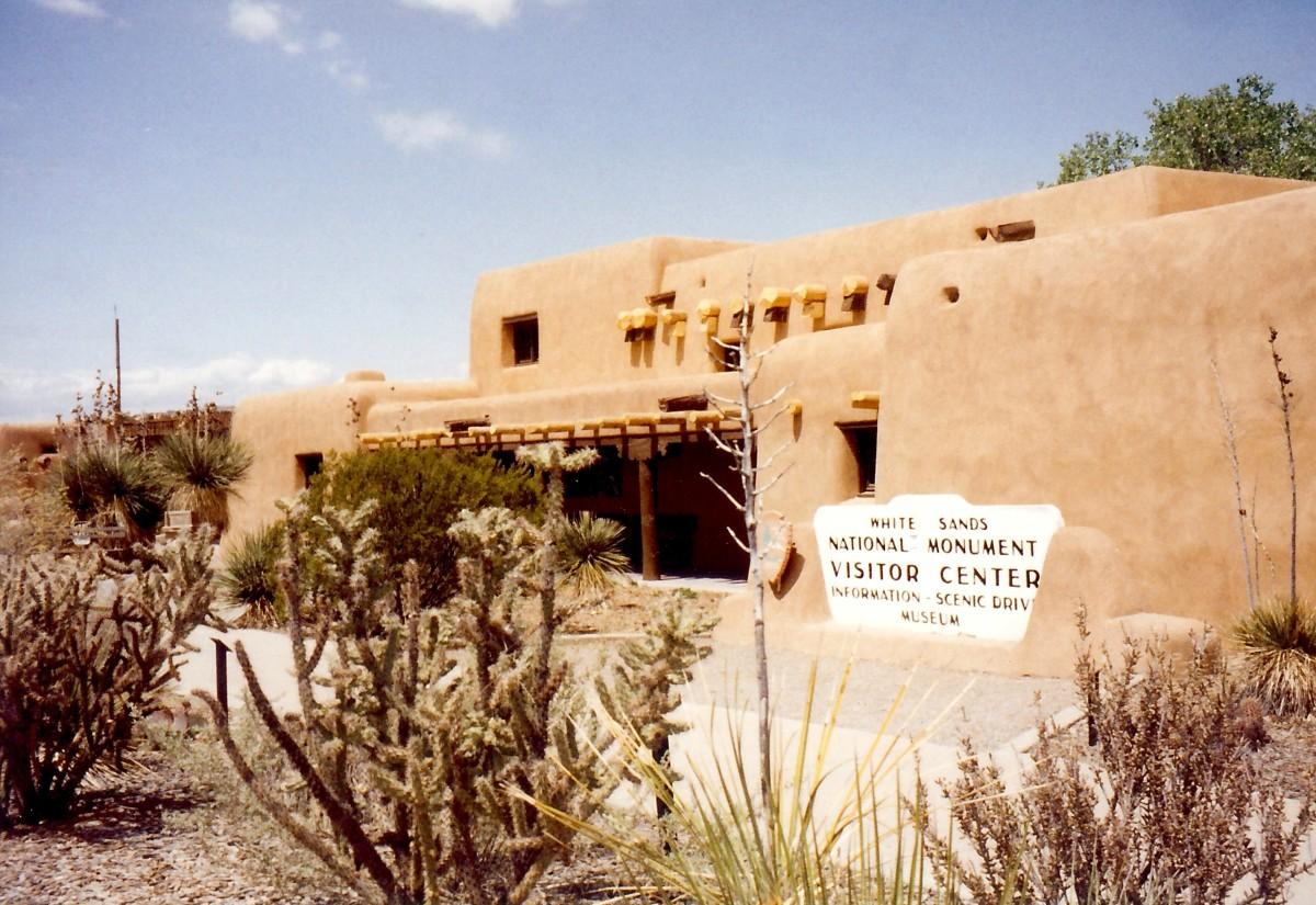 Visitor Center at White Sands National Monument