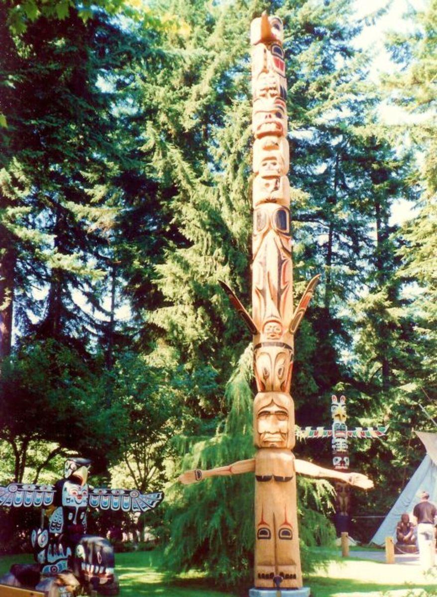 Gorgeous totem poles!