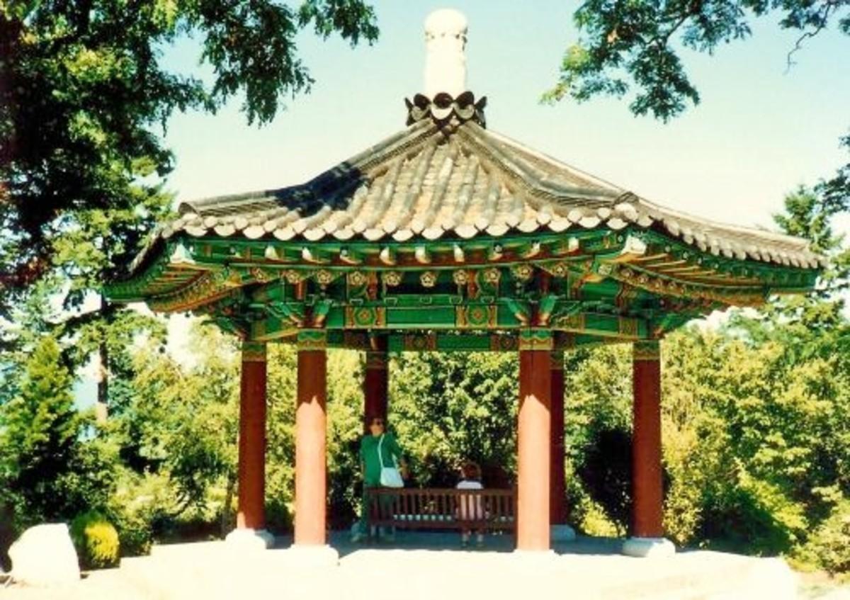 Korean Pavilion at VanDusen Botanical Gardens