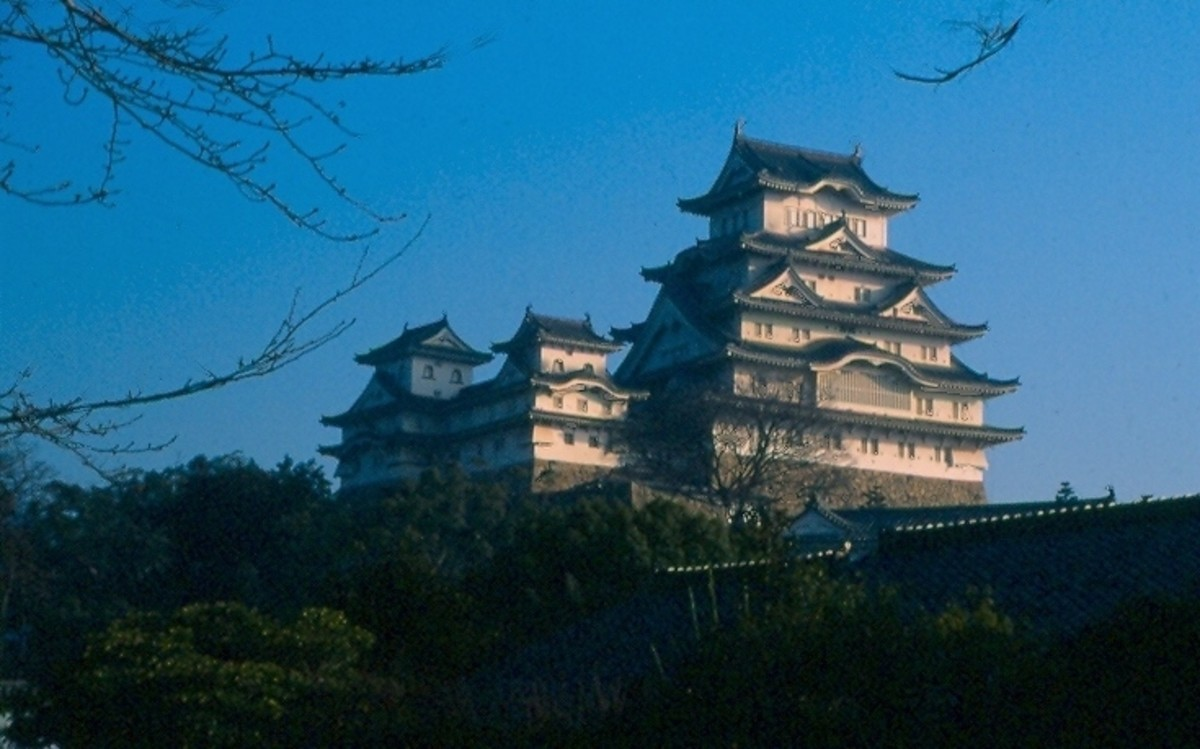 "Japan's finest castle - ""The White Heron"" in Himeji."