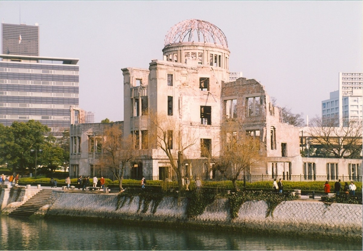 The Bomb Dome, Hiroshima.