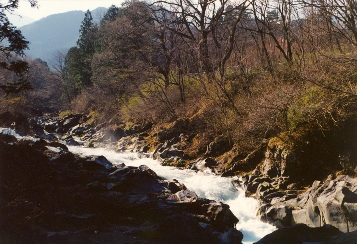 Gammangafuchi Abyss, Nikko.