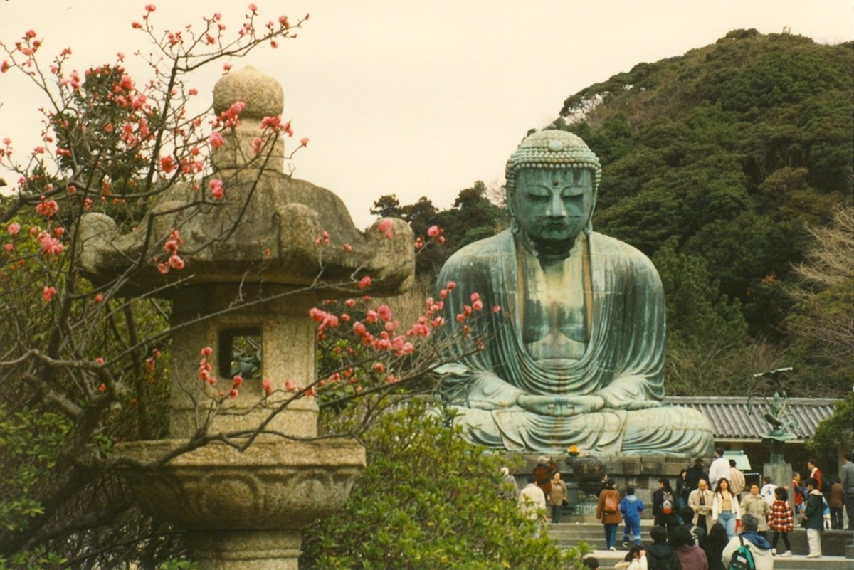 Perhaps Japan's most iconic monument - the Daibutsu of Kamakura.