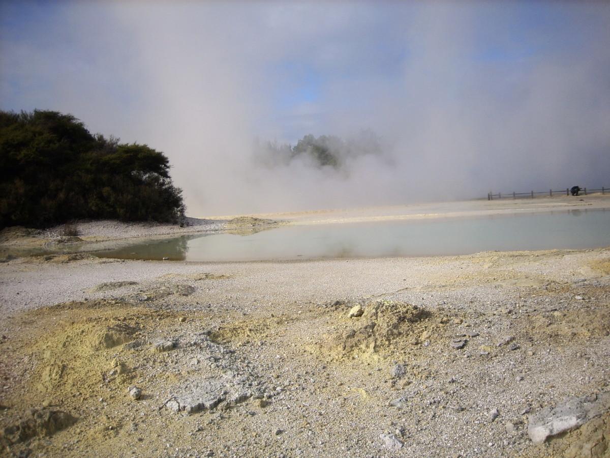 Waiotapu Geothermal Park
