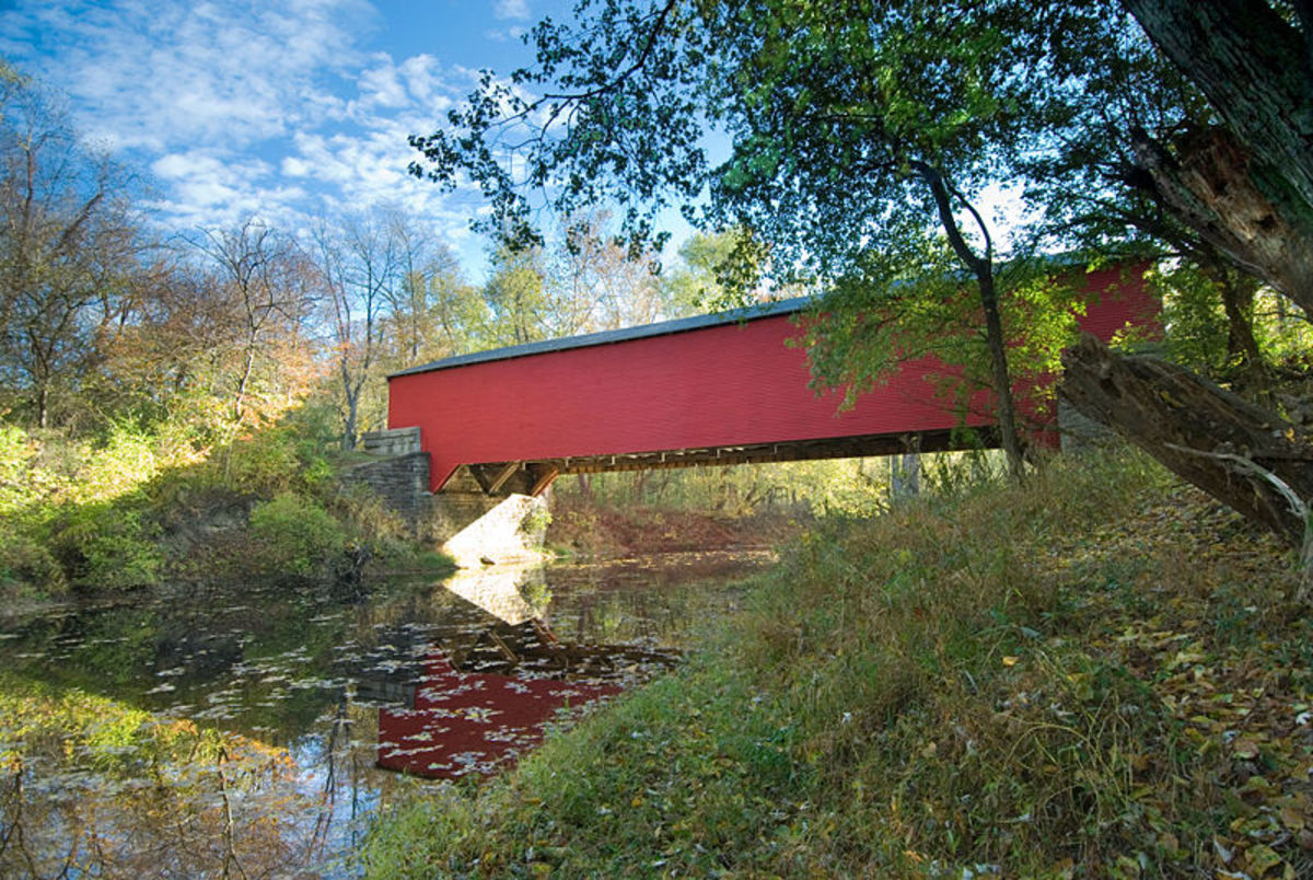 Covered Bridge at Brown County State Park
