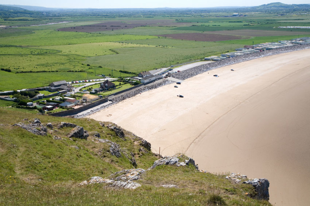 View from Brean Down