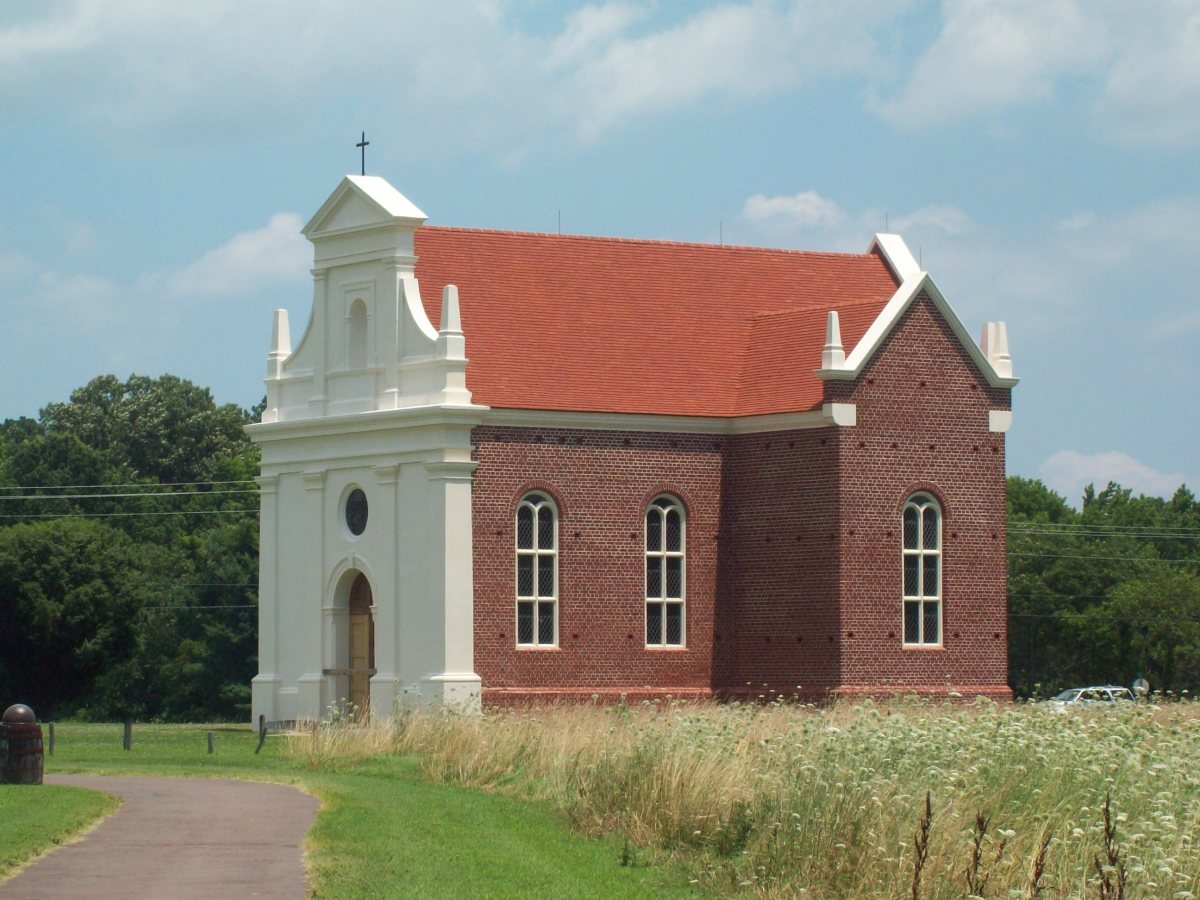 Reconstructed Catholic Church, St. Mary's, Maryland