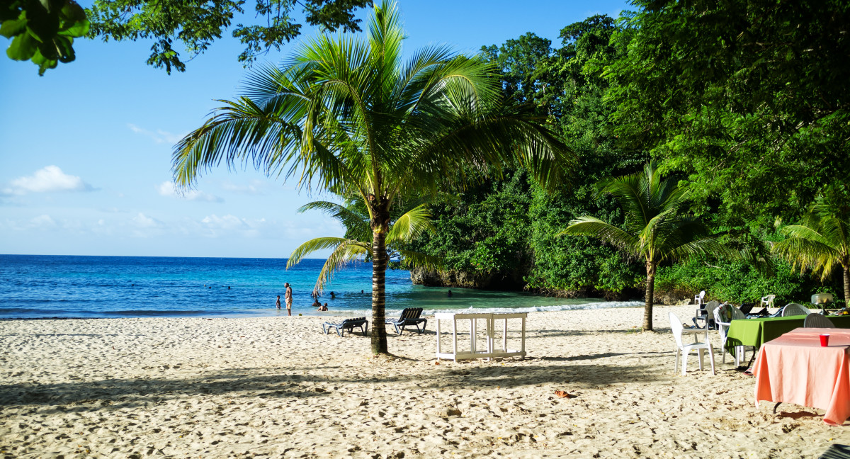 Frenchman's Cove's out of this world beauty and unique features make it the best beach in Jamaica.