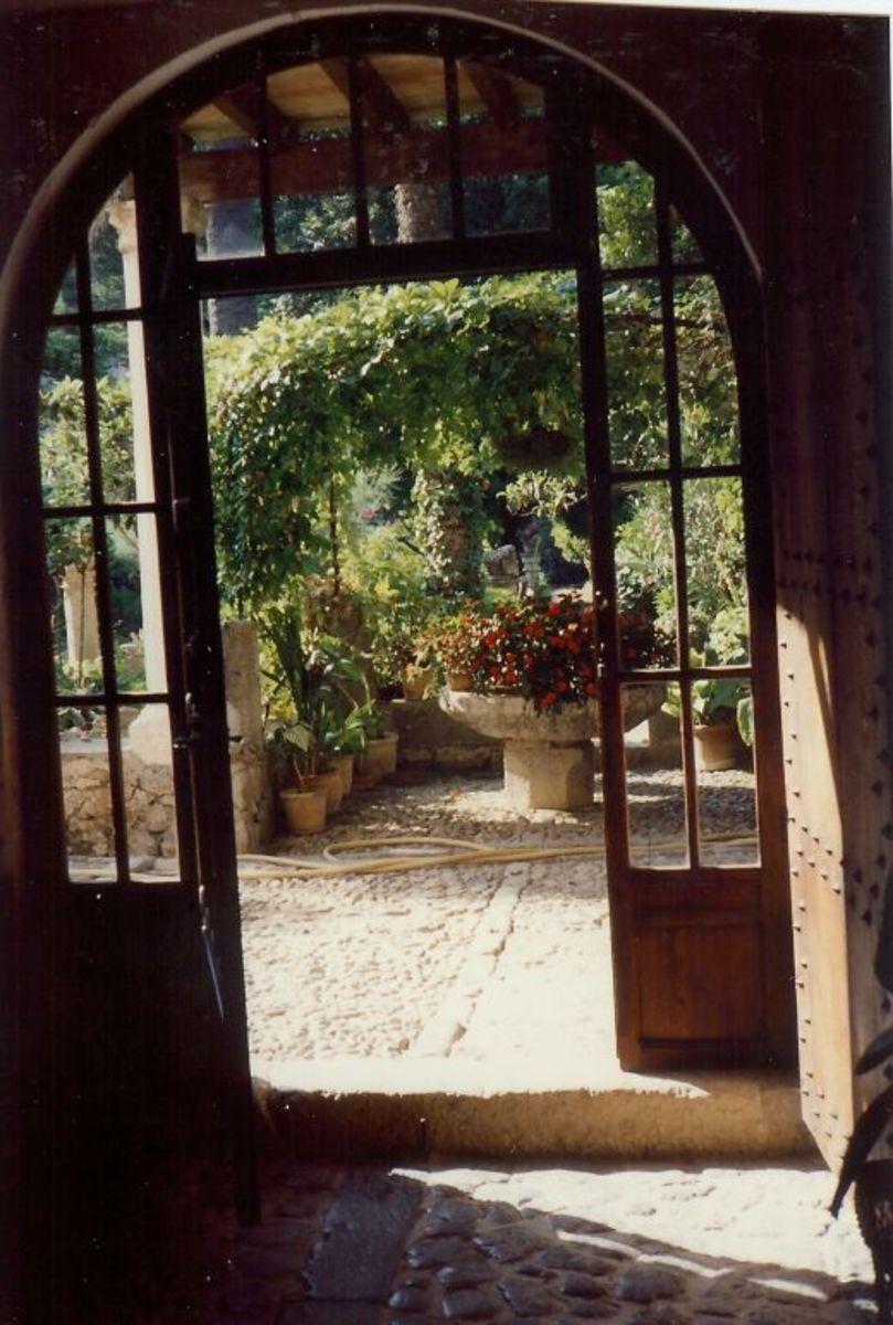 Inside Son Marroig on the Island of Mallorca