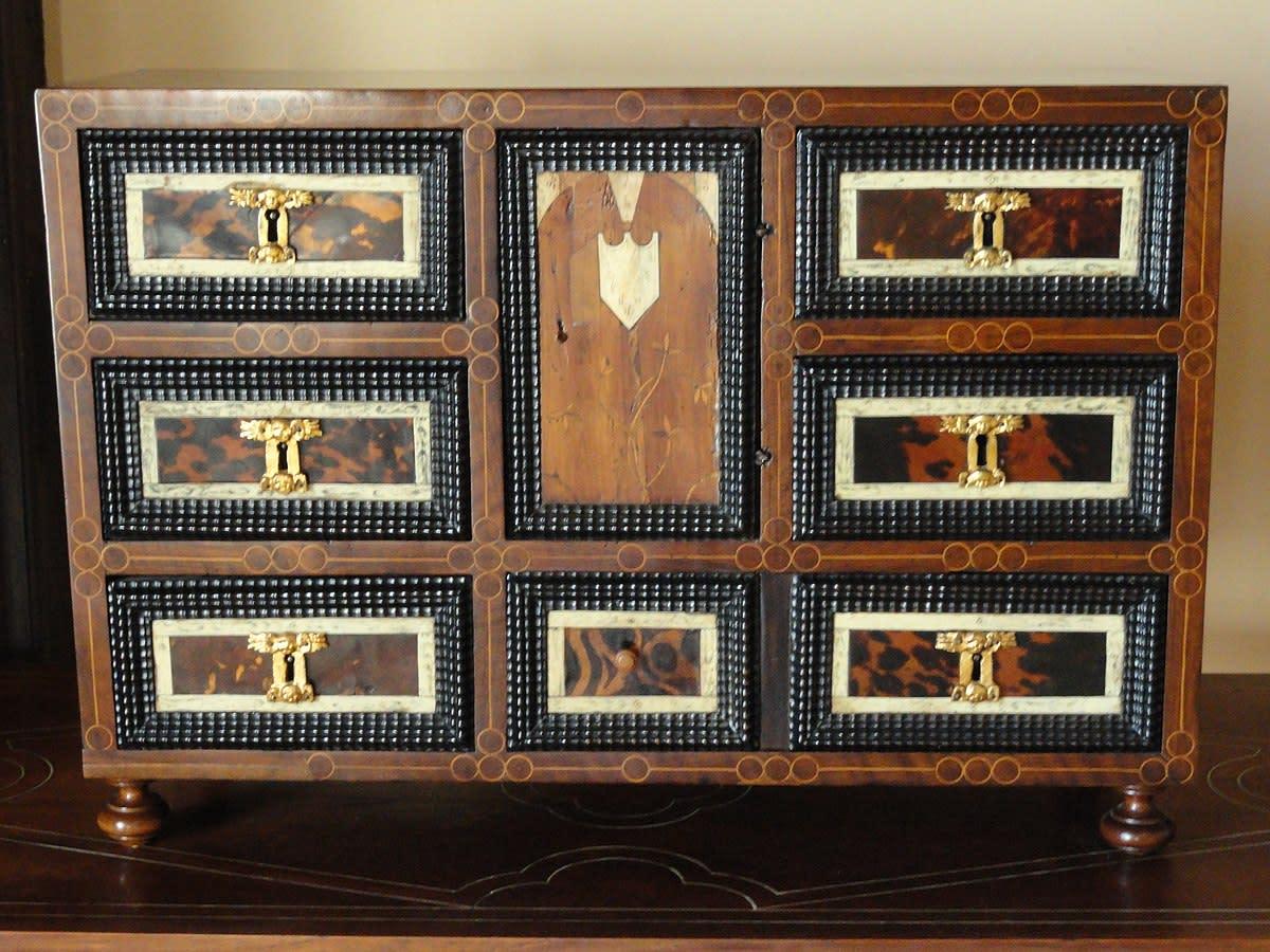 Furniture inside of Son Marroig