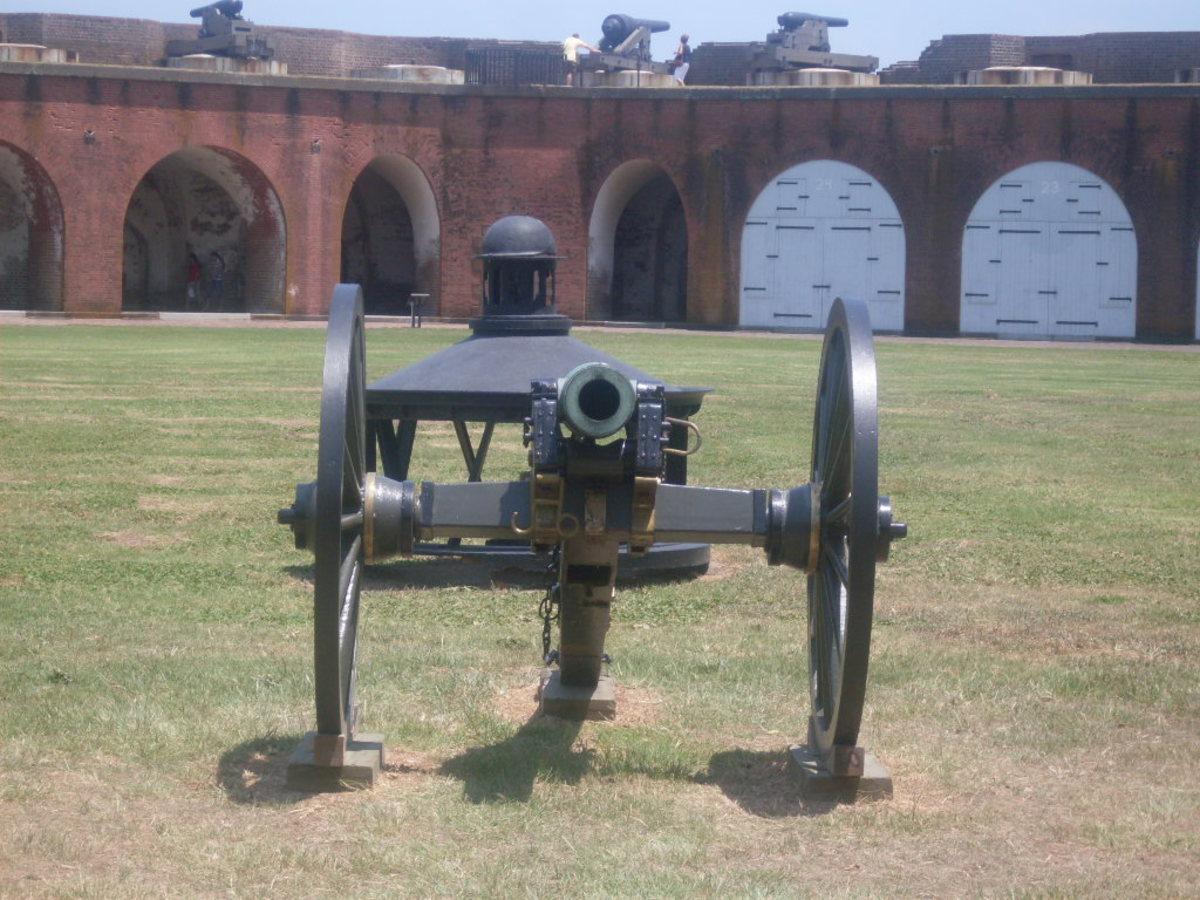 Fort Pulaski Canon
