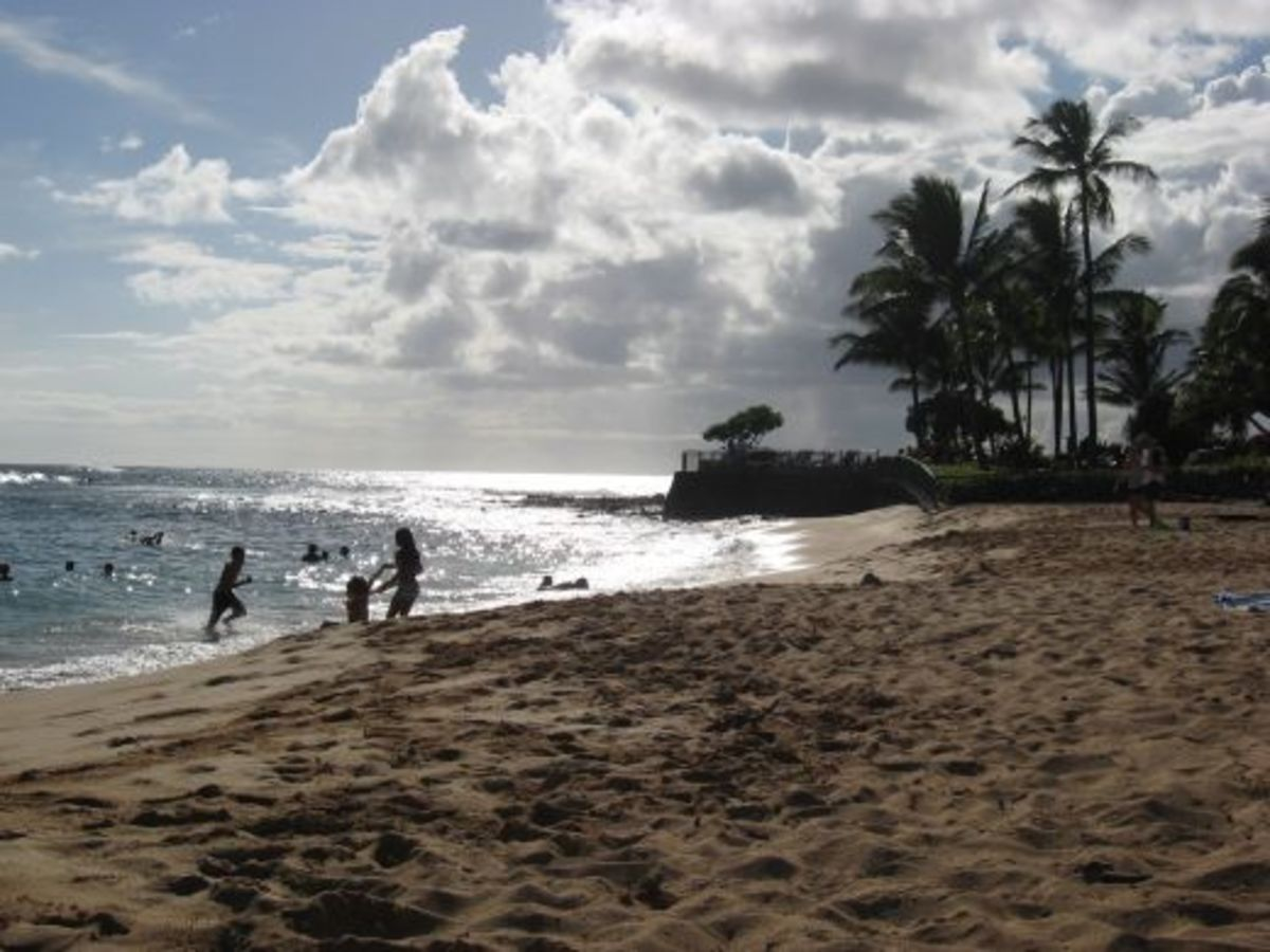 Poipu Beach by the Marriott