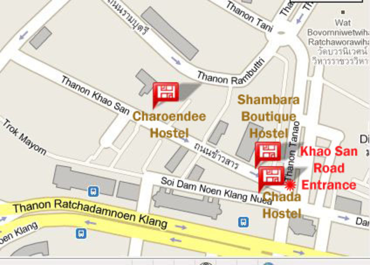 Hostels in Khao San Road