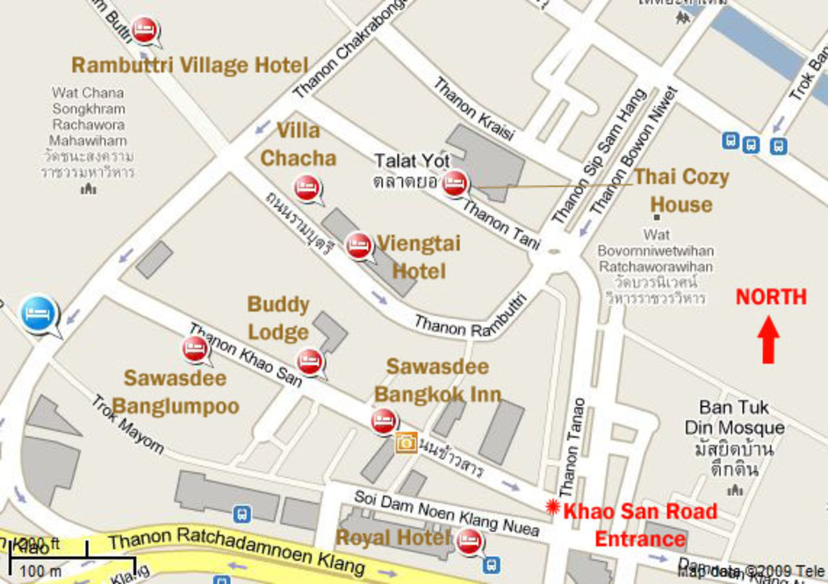 Hotels in Khao San Road