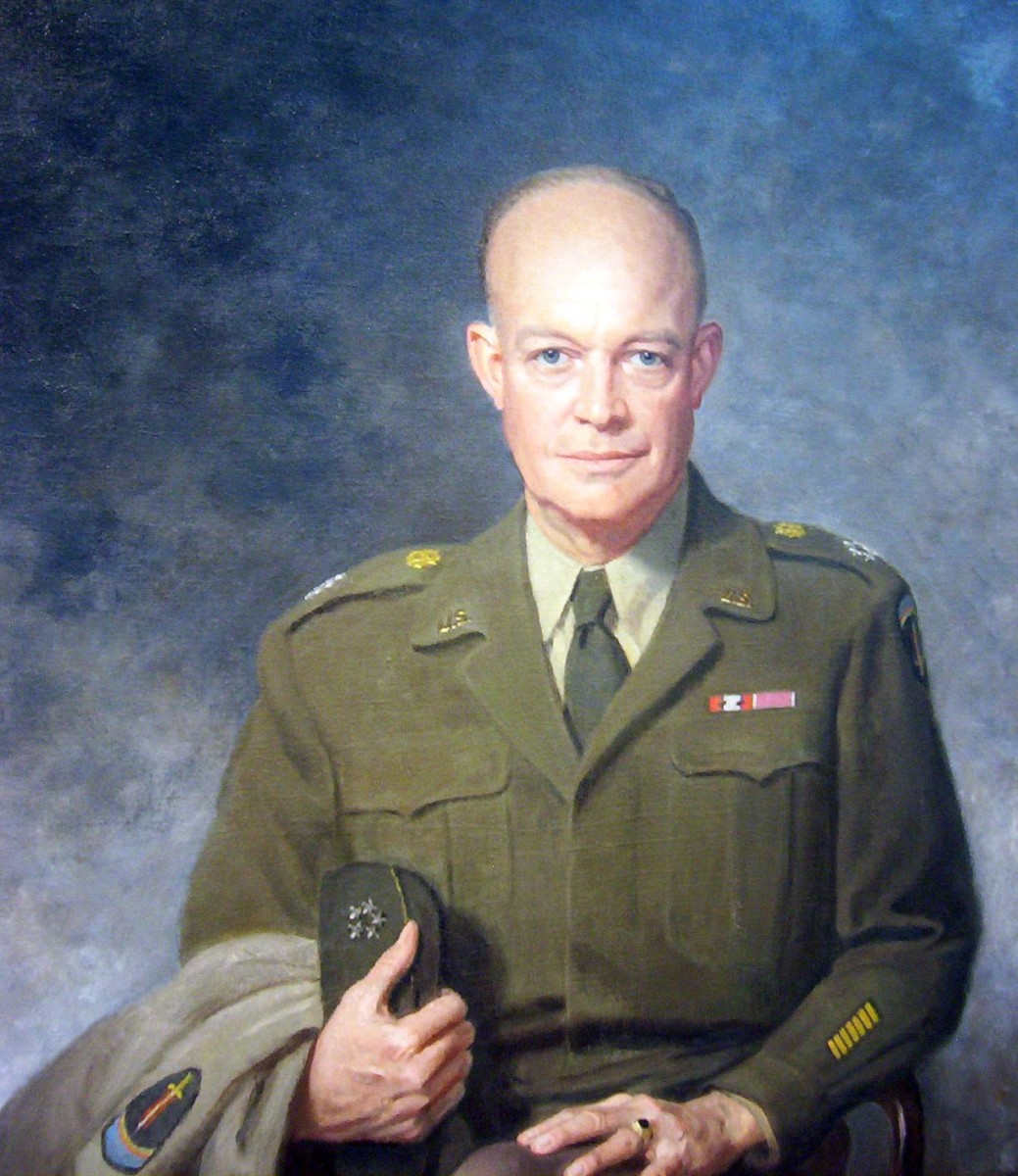 Ike Eisenhower at the National Portrait Gallery