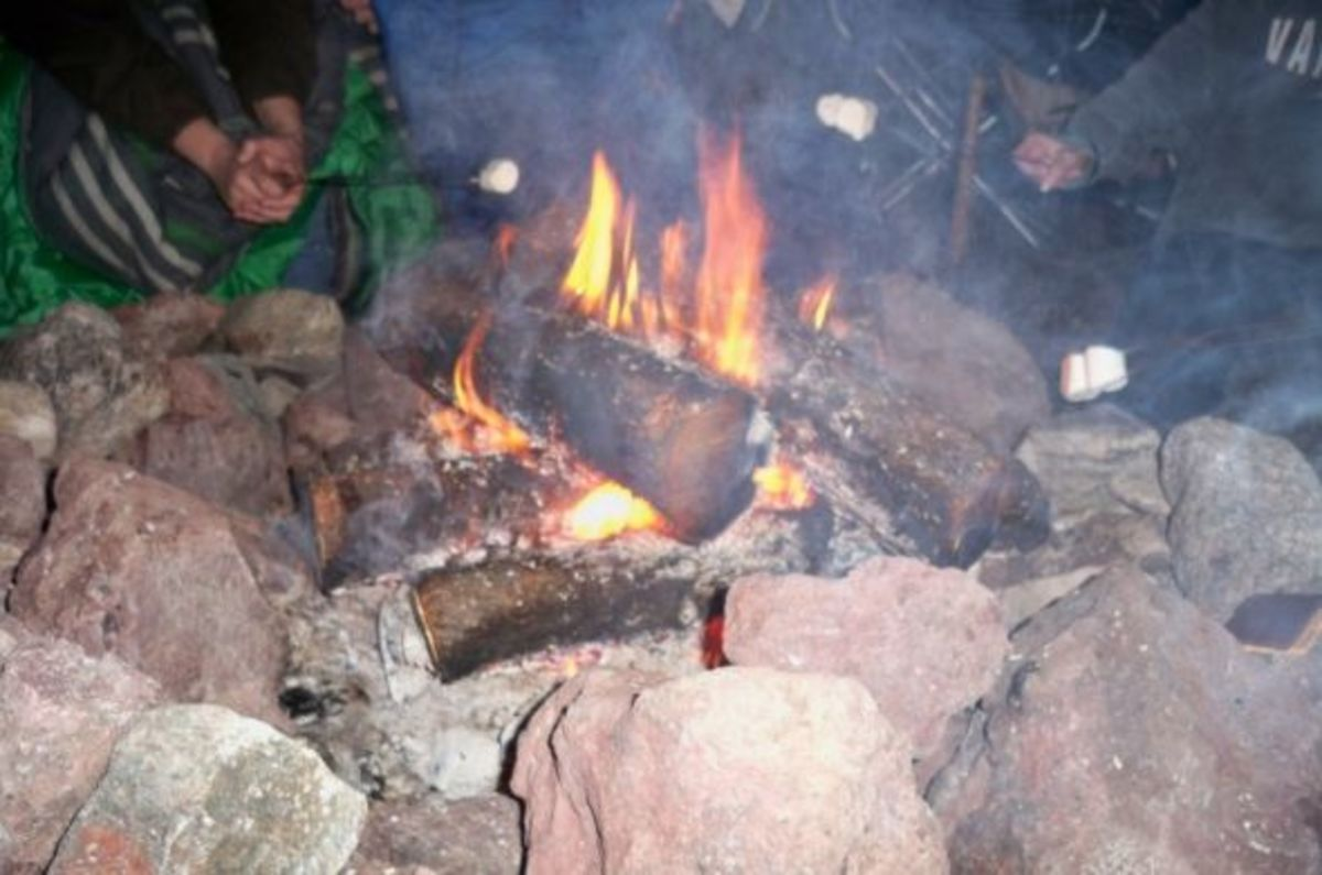 Camping in Black Canyon