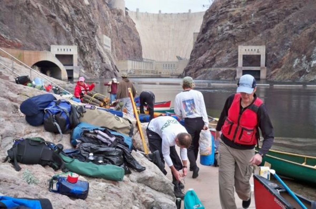 Black Canyon Canoe Trip: Hoover Dam to Willow Beach | WanderWisdom