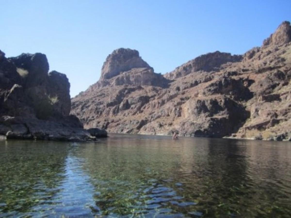The Colorado River in Black Canyon