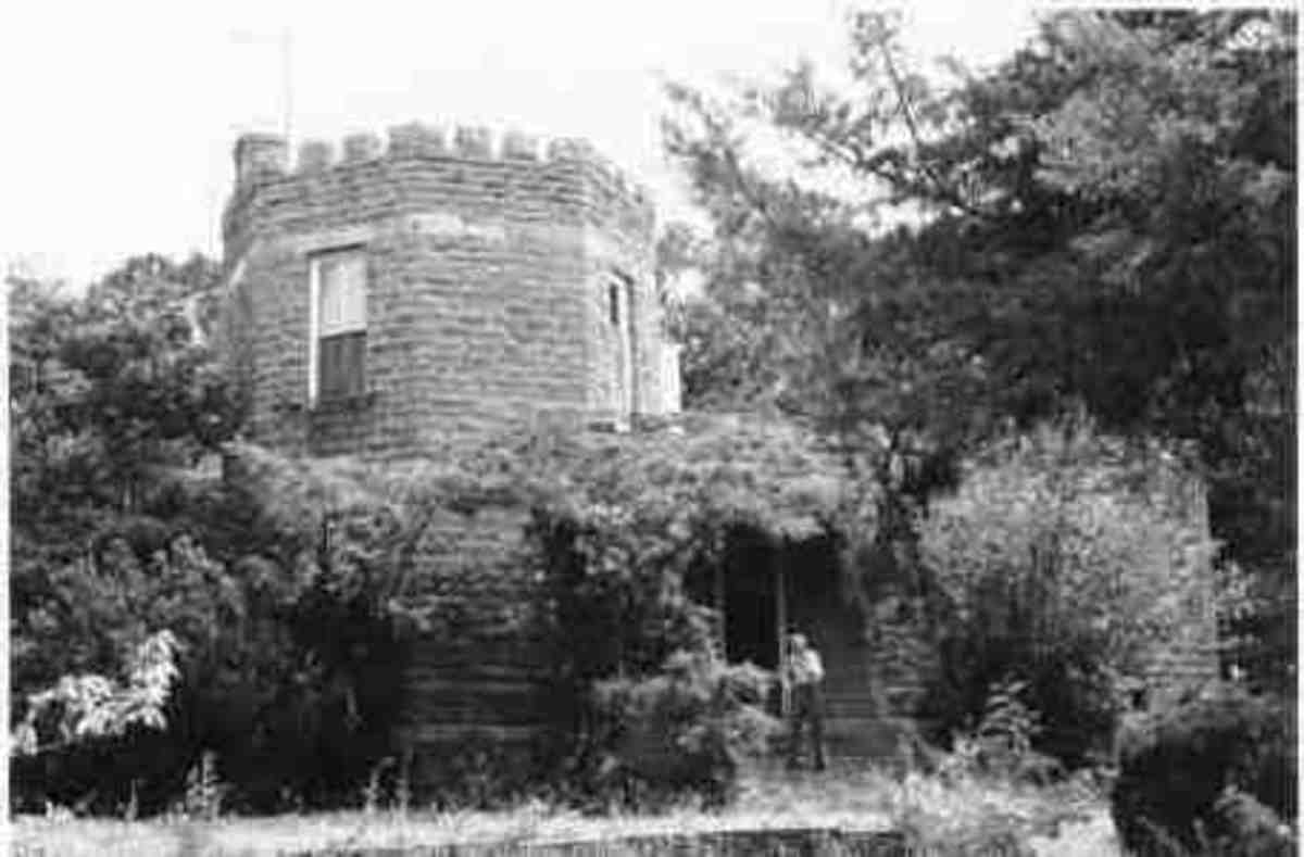 The Captains Castle in Cameron, Oklahoma