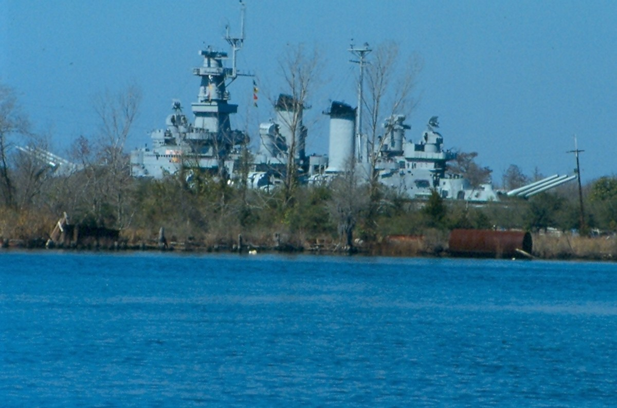 The USS North Carolina. Wilmington.