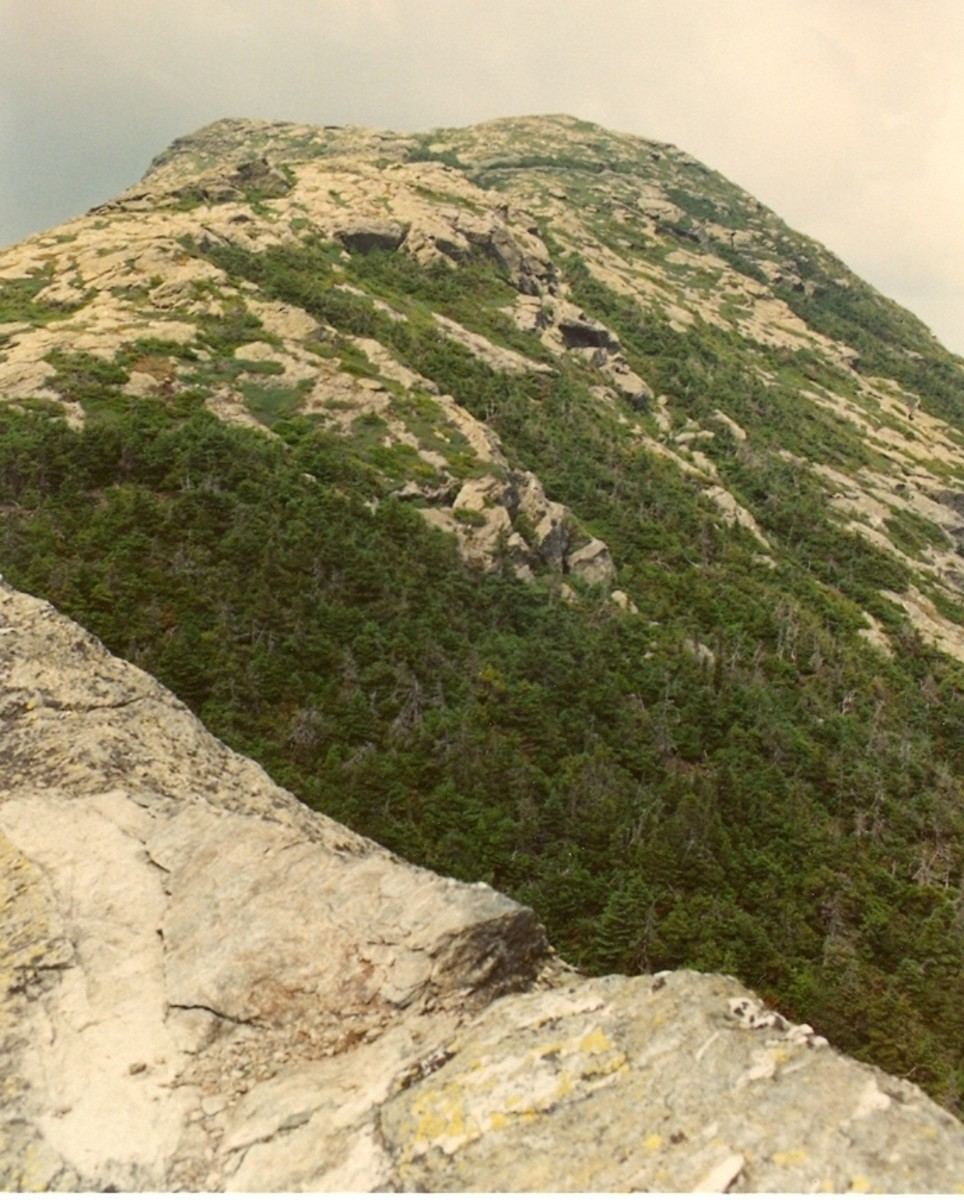 The Chin, Vermont's highest point, Mount Mansfield.