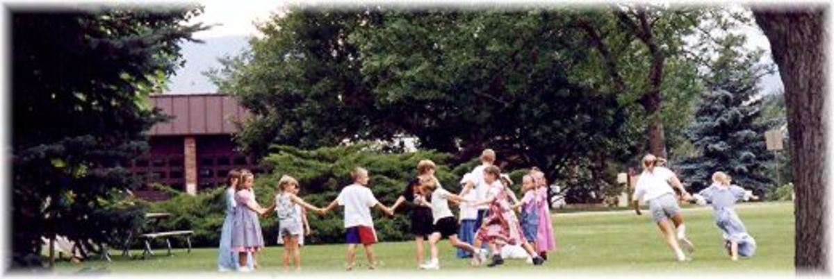 Children playing in North Lake Park