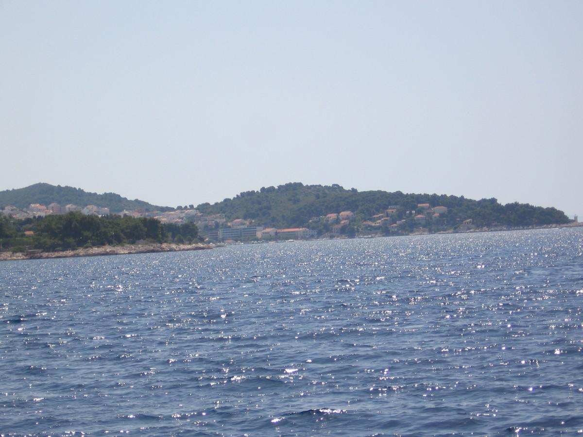 Approaching Hvar