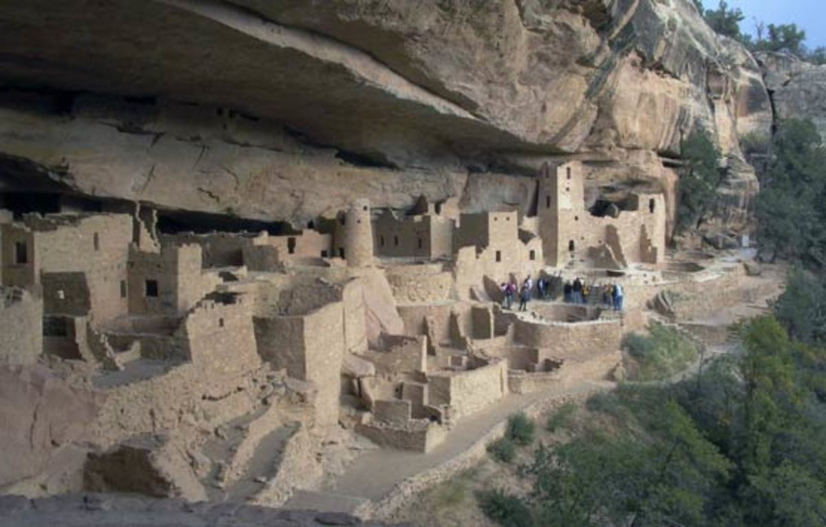 Cliff Palace Overlook View
