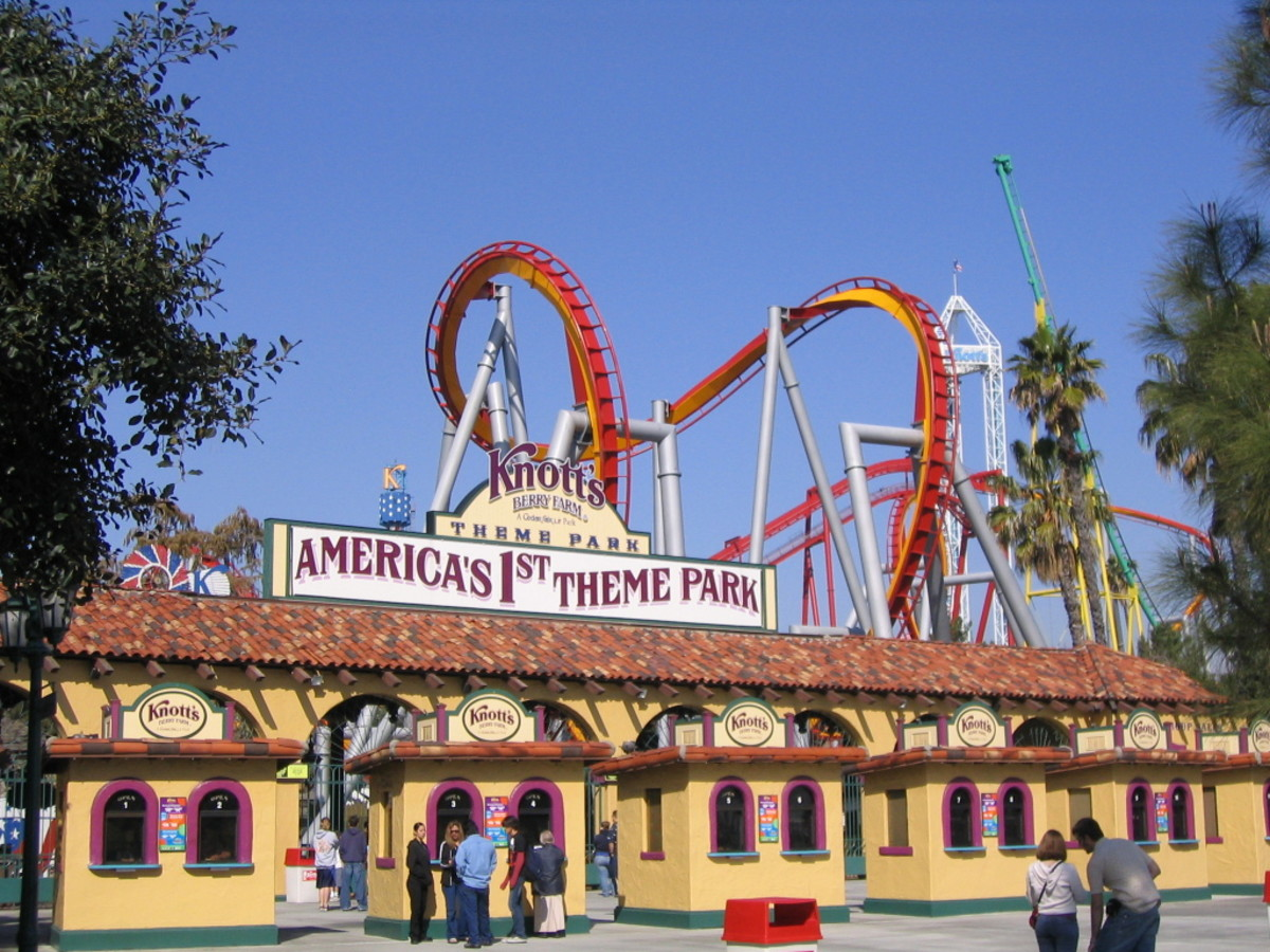 Knott's Berry Farm Amusement Park
