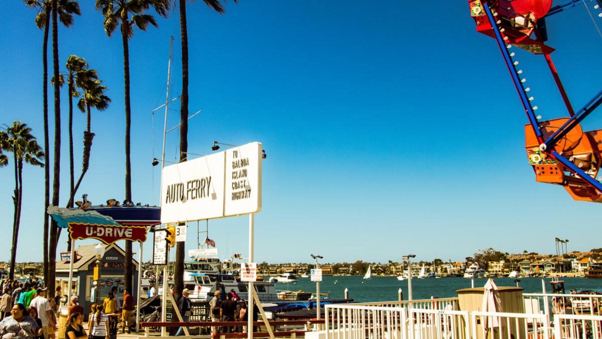 Balboa Pier in Newport.