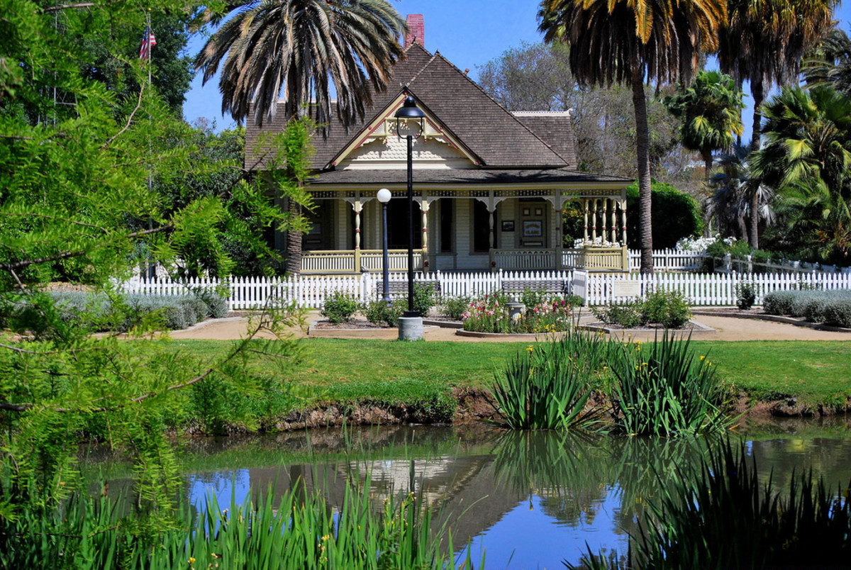 The Heritage House at the Fullerton Arboretum