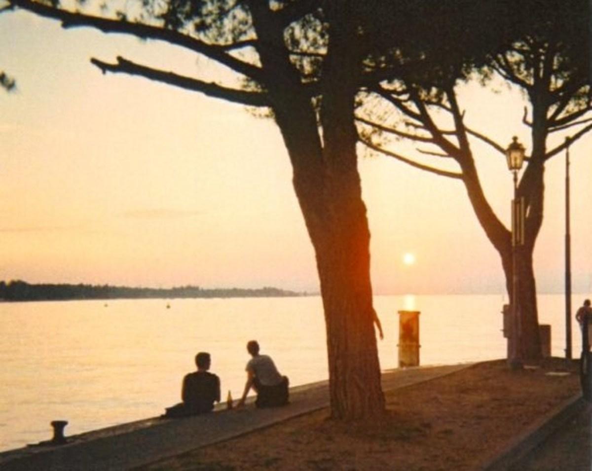 Summer Sunset at Peschiera del Garda