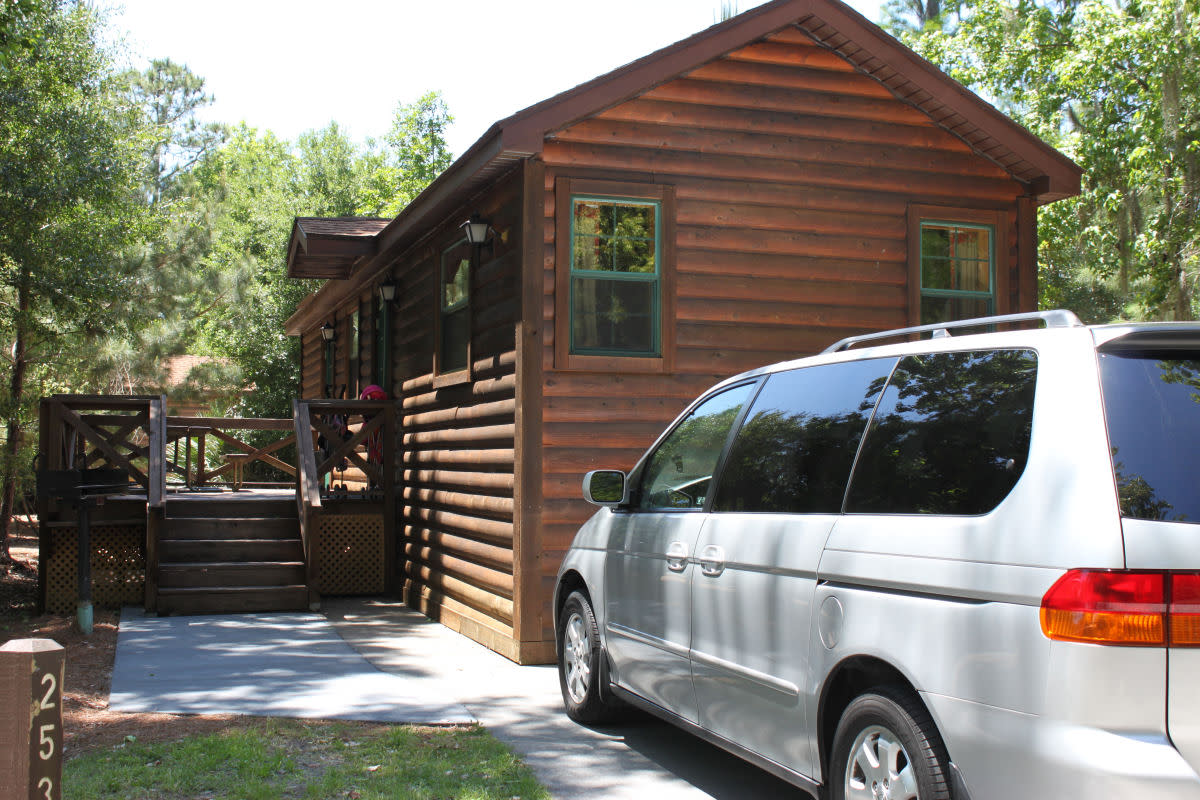 Our cabin at Fort Wilderness