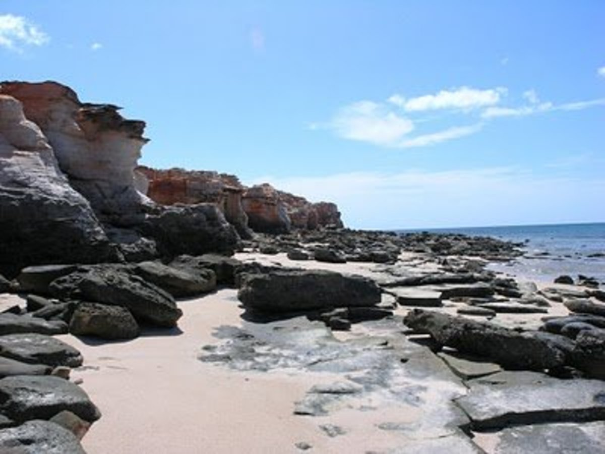 The beach at Cape Leveque