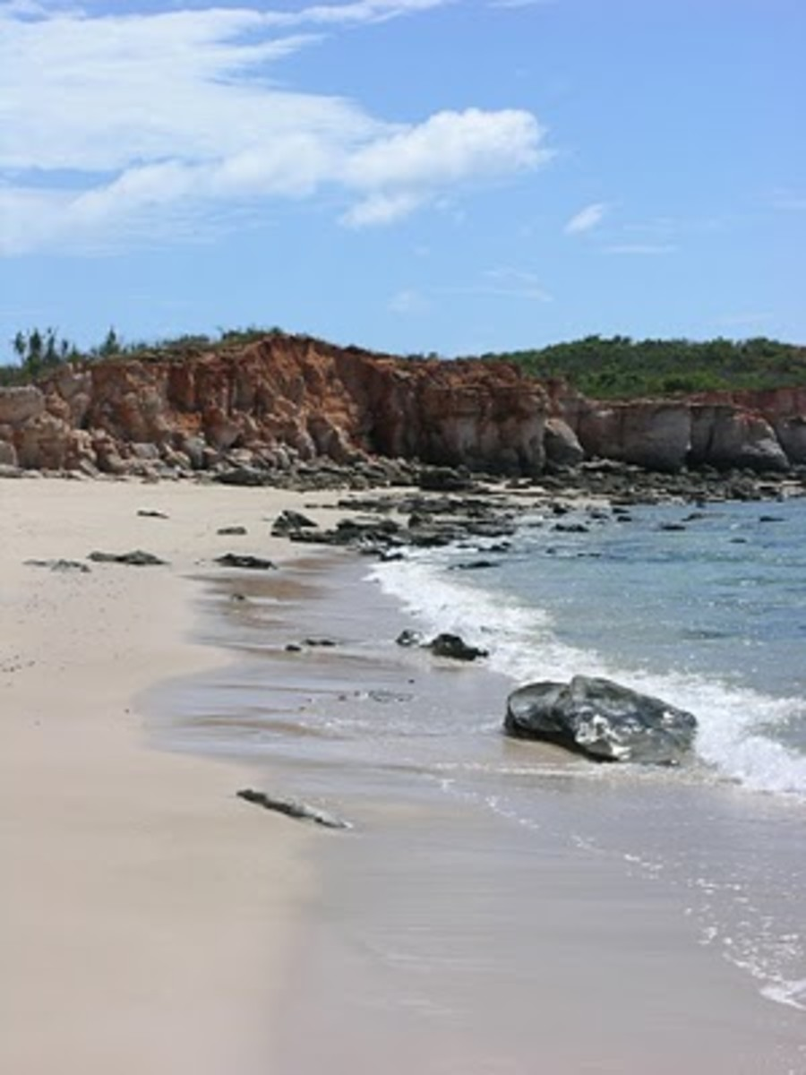 The beach at Cape Leveque