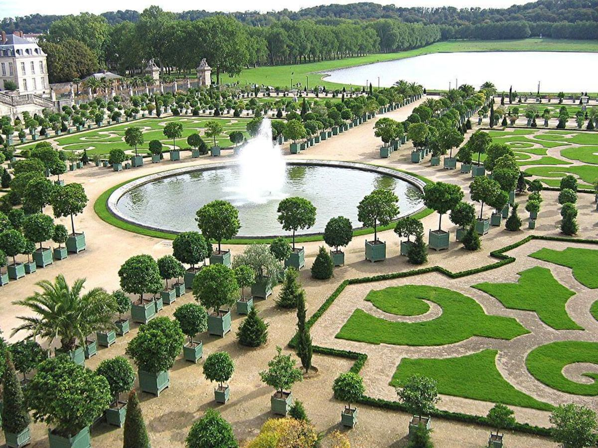 The Orangery on the grounds of Versailles