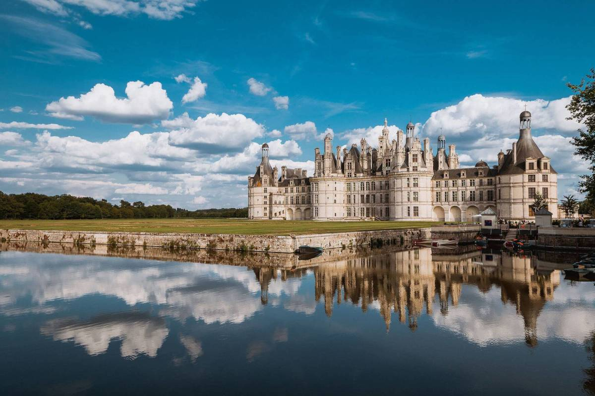 Château de Chambord viewed from the North-West (photograph by Arnaud Scherer)