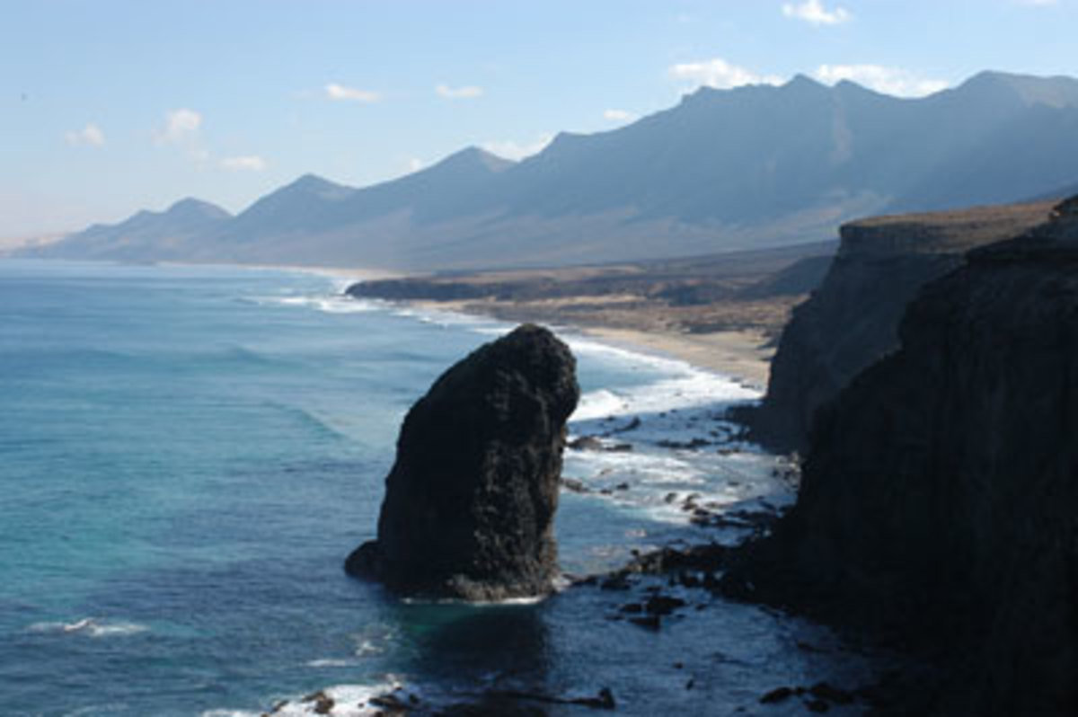 Majestic scenery in Fuerteventura