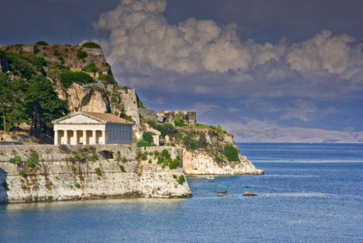 Greek architecture marries stunning landscapes in the Ionian Islands