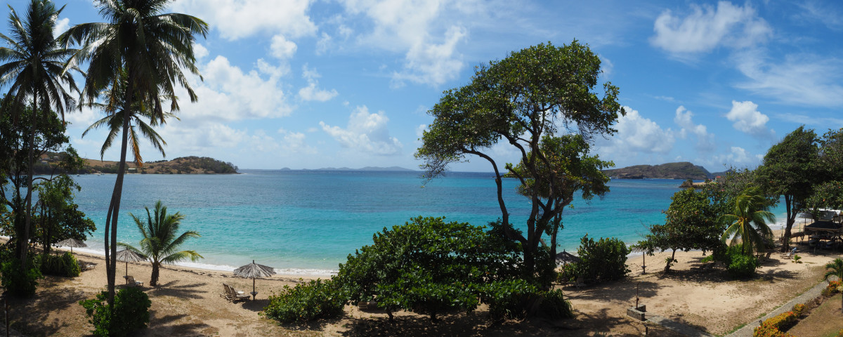 A Beautiful Beach on Bequia