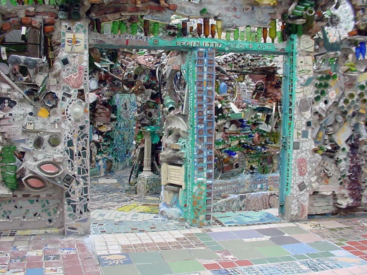 Philadelphias Magic Gardens the Mosaic Art of Isaiah Zagar