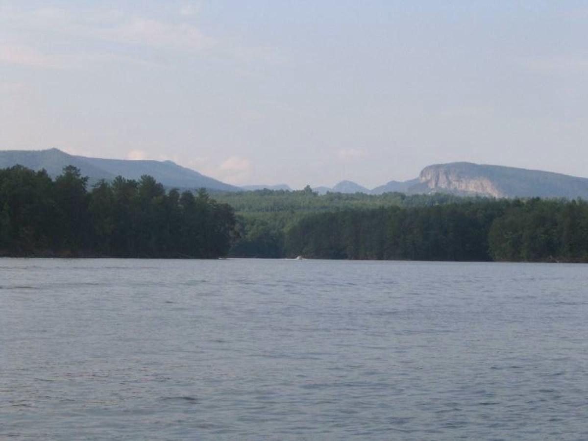 Lake James sits in North Carolina's Blue Ridge Mountains.