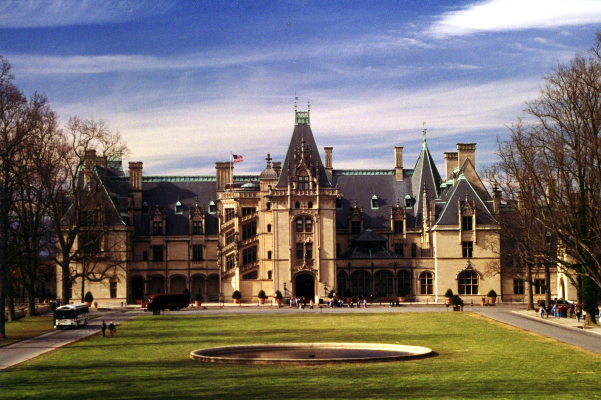 The Biltmore Estate in Asheville.