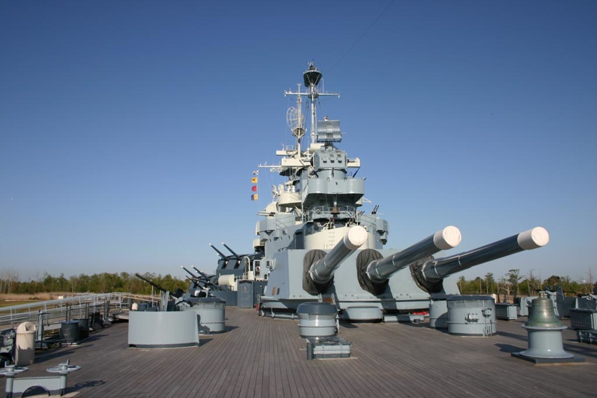 The USS North Carolina