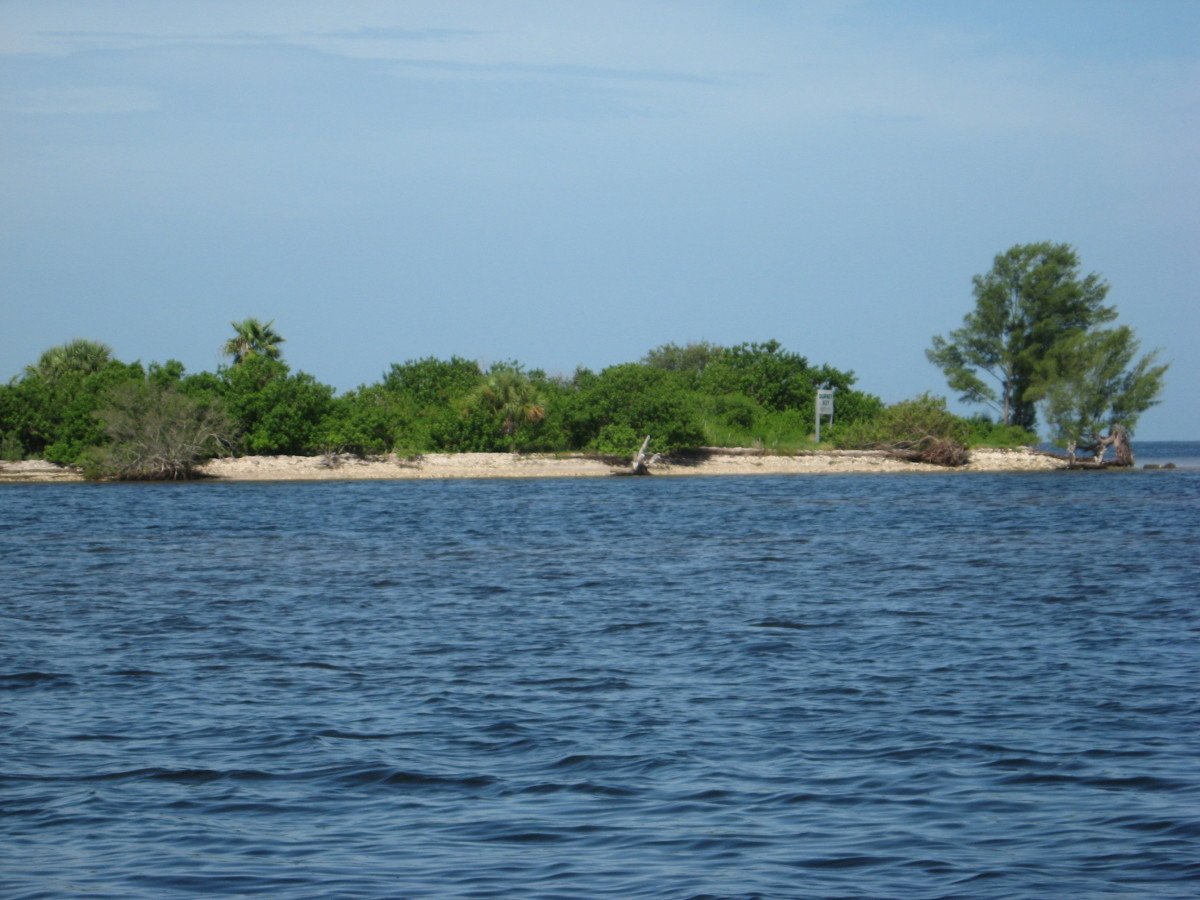 Visit a private island with a secluded beach.