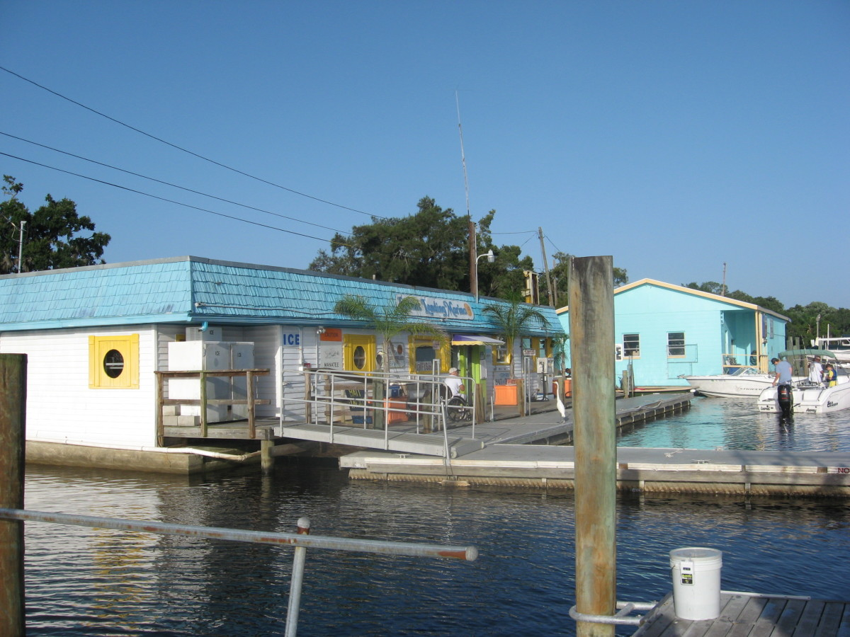 Sunset Marina in Port Richey.
