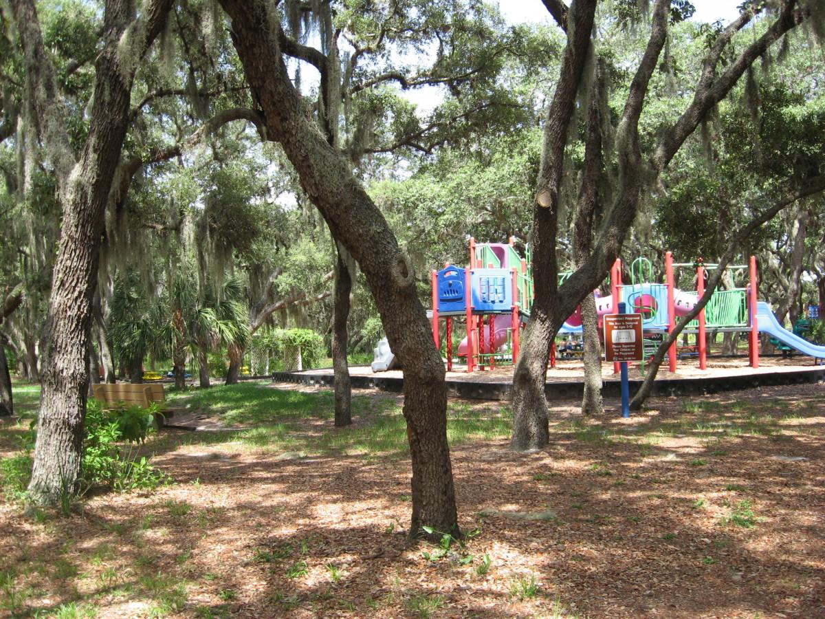 Playground at Howard Park.