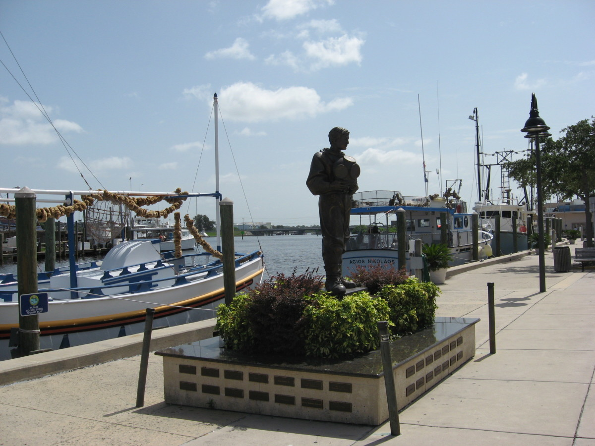 Tarpon Springs sponge docks.
