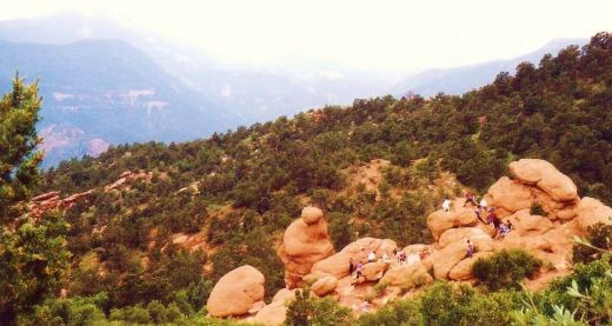 These rocks invite exploration in Garden of the Gods.