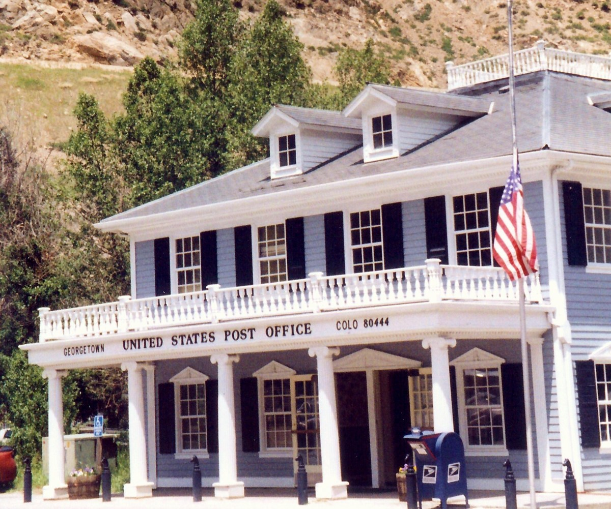 Post office photo in Georgetown, Colo.